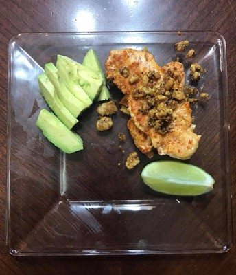 Mexican Chicken (can substitute fish too!)
