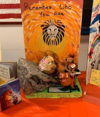 Literary Pumpkin Contest Lion King Jr.