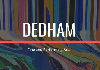 Dedham Fine Arts Updates