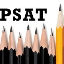 PSAT Testing- Sophomores and Freshman April 14th
