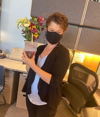 Mrs. Gardiner, Office Manager