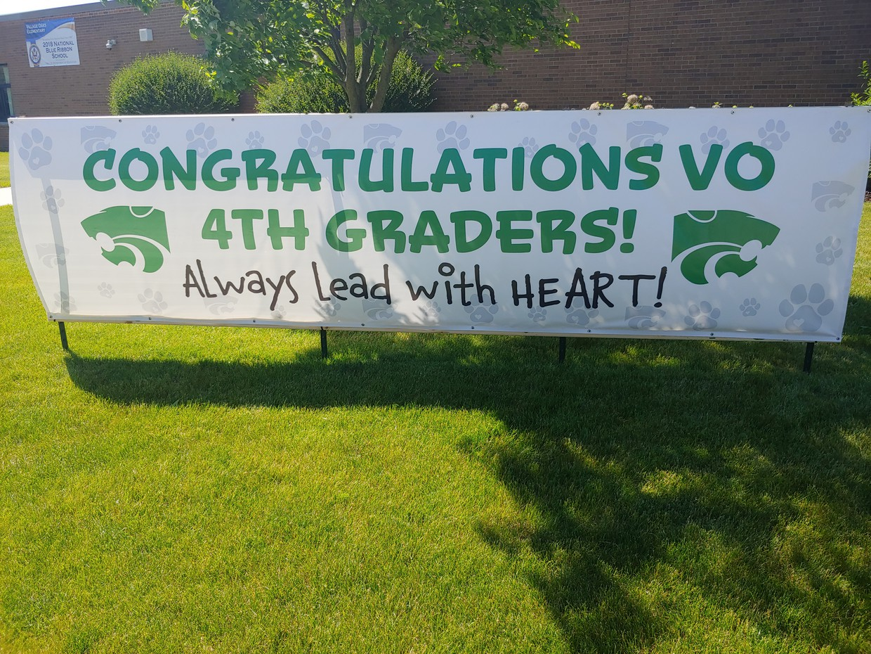 VO 4th Grade Sign
