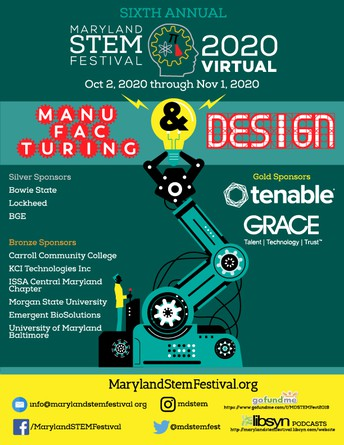 The Maryland STEM Festival Highlights Manufacturing and Design During Sixth Annual Celebration