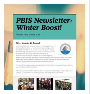 2018 Winter Newsletter:  Winter Boost!