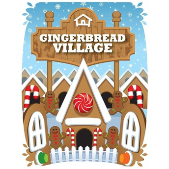 HOUSING AND INTERIORS PROJECT . . . GINGERBREAD VILLAGE