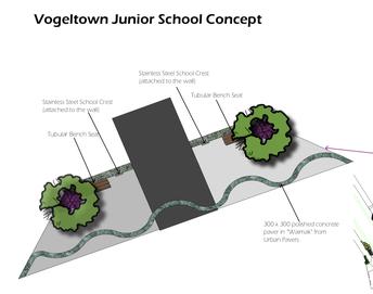 Junior school new entranceway