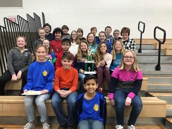 Mrs. Harris' Class - Best 5th Grade Attendance
