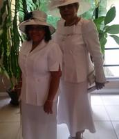 Beautiful Ladies in White