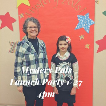 Mystery Pals Party