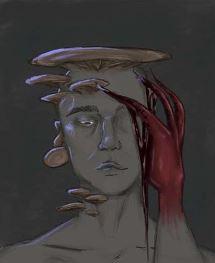 Anthony Lopez, Mushroom - Digital Art