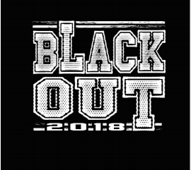 Annual Blackout Football Game is October 19th - Shirts on Sale!