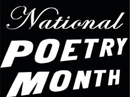National Poetry Month!