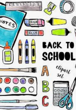 2020-2021 School Supply List K-4th grade / 2020-2021 Lista de Útiles de la escuela primaria
