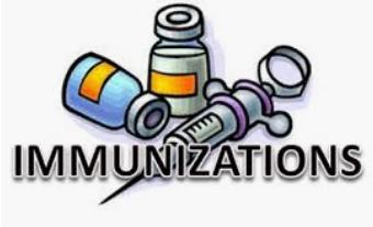 Parents ~ Immunizations for Juniors & Seniors!!!!!
