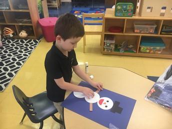 Making shape snowmen