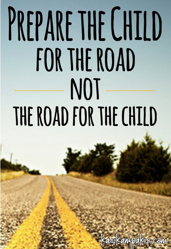 QUOTE FOR THE PRINCIPAL'S JOURNEY...ADVICE FOR PARENTS