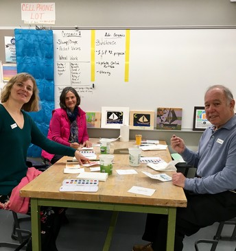 MRHS VPA Department Participates in ArtWeek