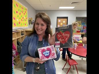 Mrs. Jackson, Prize Winner!