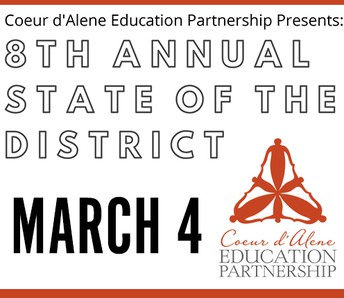TONIGHT! Join us for key updates at the State of our District
