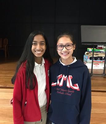 Anjali Menenzes and Thu Nguyen