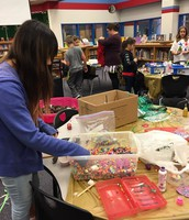 Messy Maker Space in the OSE Library!