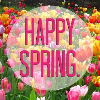 Have a wonderful Spring Break!