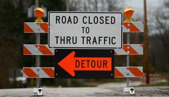 St. Mary Road Closure