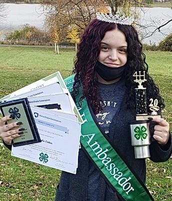 Student earns several Bucks County 4H awards
