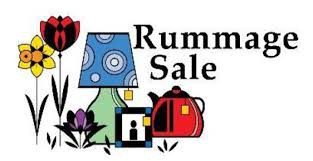 RUMMAGE SALE - JUNE 27th - JUNE 29th