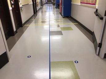 Divided hallways