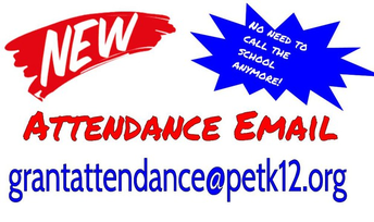Reporting your student absent? You Can Call or Email Us