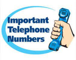 Helpful Numbers to Know