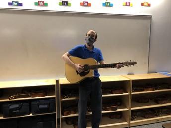 Mr. Herridge's Music Class