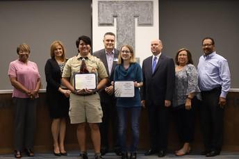 Honoring National Merit Scholars