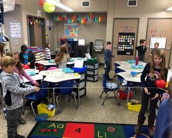 2nd Grade Balloon Rockets