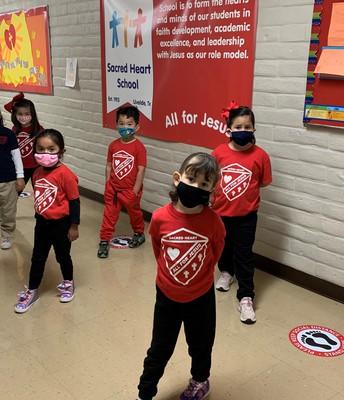 We are Sacred Heart Catholic School
