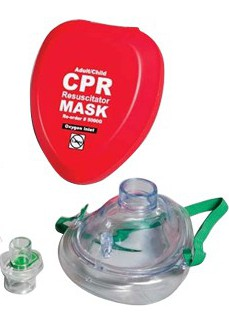 CPR masks added to school defibrillator kits