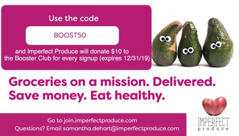 Imperfect Produce (Fruits and Vegetables) Fundraiser: