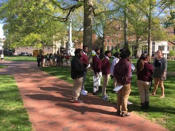 Touring campus