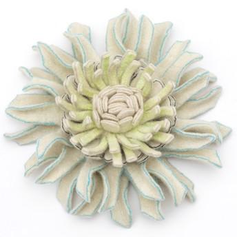 sculptural felted flower,   one-day workshop  18-09-2019 or 19-09-2019, 10.00-16.30