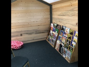 The Foundation Sponsored Reading Loft is Nearly Finished!