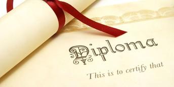 Diploma Distribution TOMORROW!