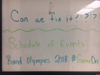 Band Olympics 2018