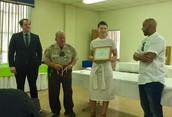Mrs. Searcy Earns Masonic Lodge Award