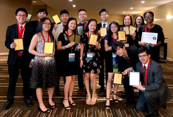 Alief ISD high school students advanced to national competitions after placing in the Future Business Leaders of America (FBLA) State Leadership Conference.