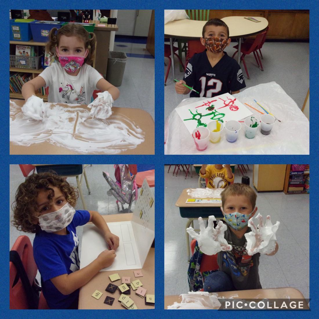 #HopeSchoolRI kindergarteners are loving Ms. Barlow's class!
