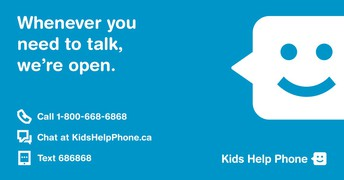 Kids Help Phone Crisis Text Line