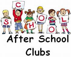 After School Enrichment Clubs!