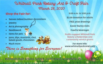 Whitnall Park Rotary Art & Craft Fair