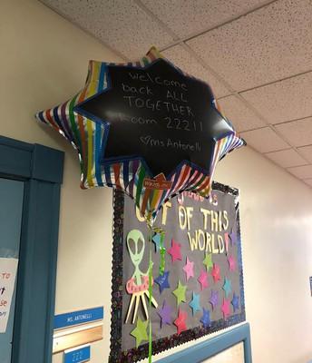 3RD grade Welcome Balloons